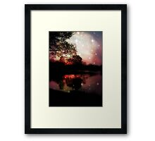 Dreamy Night ©  Framed Print