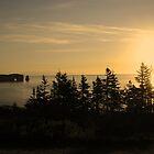 Sunrise over  Perce  by terrebo