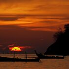 Ko Pu Sunset, Phuket Thailand by Chris Prior