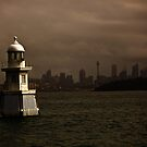 Beacon on Sydney Harbour  by Sheila  Smart