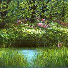 Blooming Riverside  by lizzyforrester