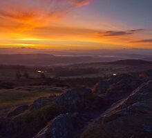 First light from Gummers How by Shaun Whiteman