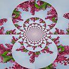Lilac Frenzy by Linda Miller Gesualdo