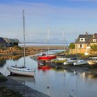 Inner harbour Abersoch by Turtle  Photography