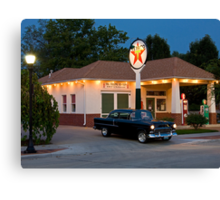 """""""The Filling Station"""" Canvas Print"""