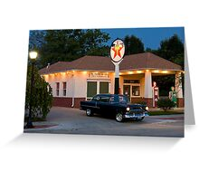 """""""The Filling Station"""" Greeting Card"""