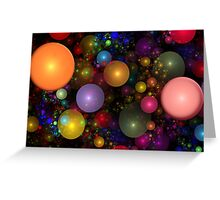 Billions of Bubbles Greeting Card
