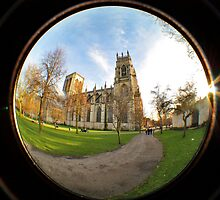 York Minster: A Fisheye View by Mat Robinson