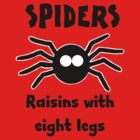Retro-Style Fun Tees; Spiders by Dead as a Dodo Limited