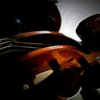 Textures in Cello Art by ArtbyDigman