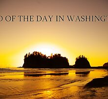 end of the day, james island, wa, usa by dedmanshootn