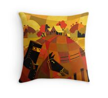 NED KELLY Throw Pillow