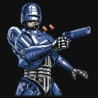 Robocop in pixels by loogyhead