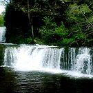 Lower Ddwli Waterfall by Anthony Thomas