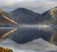 Wastwater In January by VoluntaryRanger