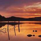 Loch Ard Sunset by makatoosh