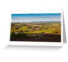 Harbottle Village, Coquetdale. Northumberland National Park UK Greeting Card