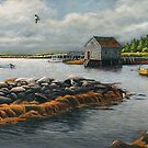 &quot;Ebb-Tide--Prospect Bay, Nova Scotia&quot; by Frank Boudreau