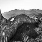 Great Wall - Beijing by Julian Fulton-Boote