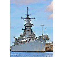 USS Missouri Photographic Print