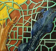 326 - STRING ART V - DAVE EDWARDS - MIXED MEDIA - 2011 by BLYTHART