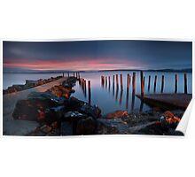 Middleton Boat Ramp Sunrise Poster