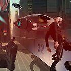 Rhino City mock scene by retepk