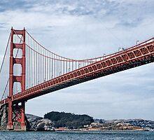 Golden Gate Bridge by ronda chatelle