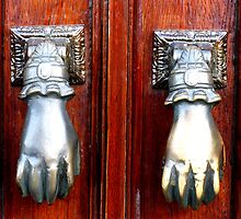 Hands - Evora, Portugal by Marilyn Harris