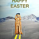 The Scream World Tour Skiing Happy Easter by Eric Kempson