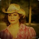 Florida Cowgirl Self Portrait by Julie Everhart