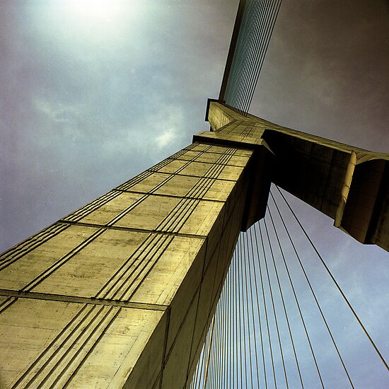 Medium Format Photography - Rama 8 Bridge by Ken McColl
