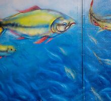 Fish on a Wall by Steve Outram