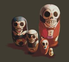 Sugar Skull Family by Traumatron