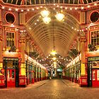 2.50am New Years Day - Leadenhall Market Series - London - HDR by Colin J Williams Photography