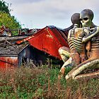 Checkendon Sculpture – The Nuba Embrace - HDR by Colin J Williams Photography