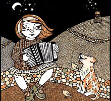 Annie's Accordian by Anita Inverarity