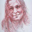 Portrait by Anastasia Zabrodina