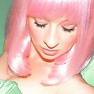 pink wig by weglet
