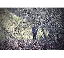 Stranger in the woods Photographic Print