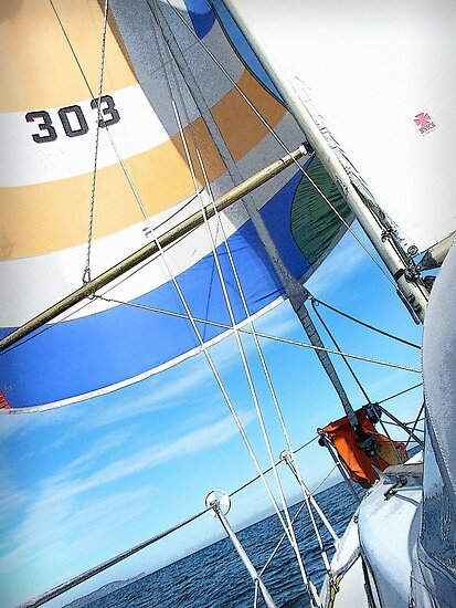 Gone Sailin' by Chris Cardwell