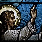 The Power of Faith - Stained Glass by timmcmurdo