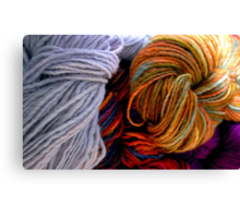 The Wool Anenomes Canvas Print