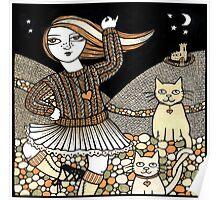 Fiona's Highland Fling Poster