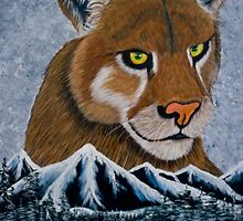 Mountain Lion - Prints & Posters by richardyoung1