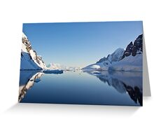 Lemaire Channel, Antarctica Greeting Card