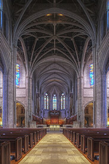 Grace Cathedral (San Francisco, California) by Brendon Perkins