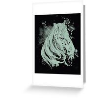 millenium horse Greeting Card