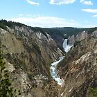 Artist Point, Yellowstone National Park by TracyS