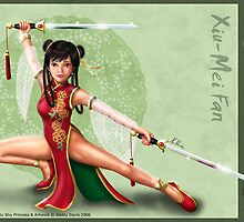 Xiu-Mei Fan - Wushu Princess by Keddy Davis